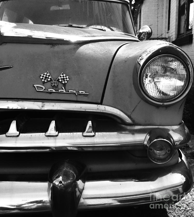 1956 Dodge 500 Series Photo 5 Photograph  - 1956 Dodge 500 Series Photo 5 Fine Art Print