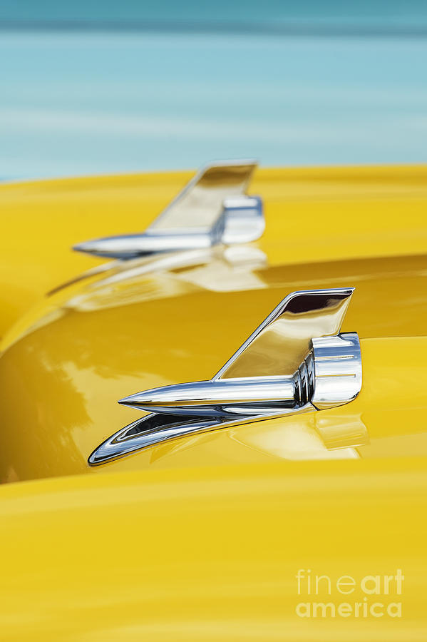 1957 Chevrolet Bel Air Detail Photograph  - 1957 Chevrolet Bel Air Detail Fine Art Print