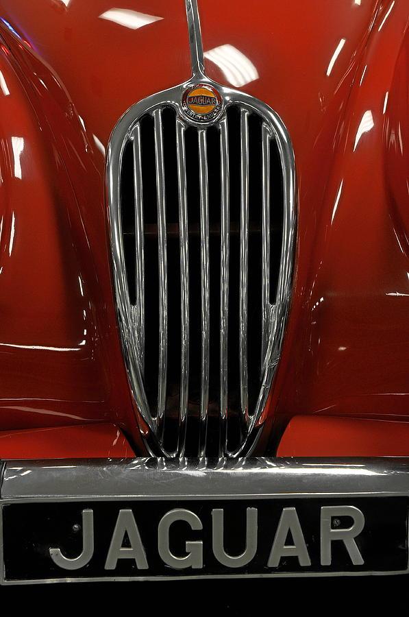 Cars Photograph - 1957 Jaguar Xk 140 Mc by Keith Gondron