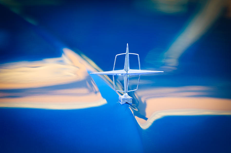 1957 Lincoln Continental Hood Ornament Photograph