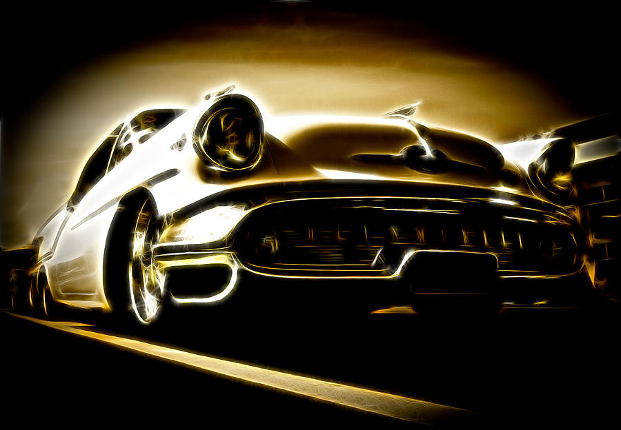 Custom Oldsmobile Photograph - 1957 Oldsmobile 88 by Phil motography Clark