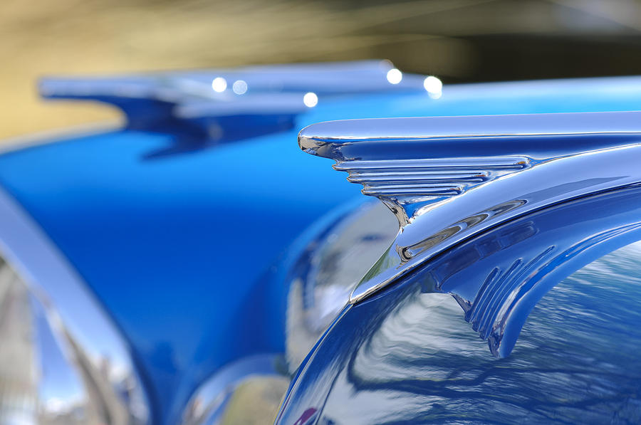 1957 Oldsmobile Hood Ornament 3 Photograph