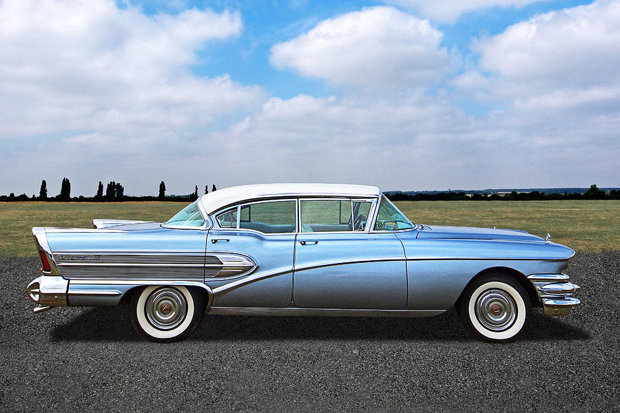 1958 Buick Roadmaster 75 Photograph