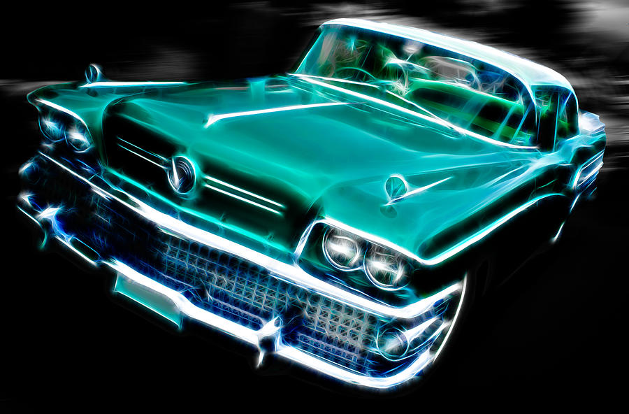 1958 Buick Special Photograph  - 1958 Buick Special Fine Art Print