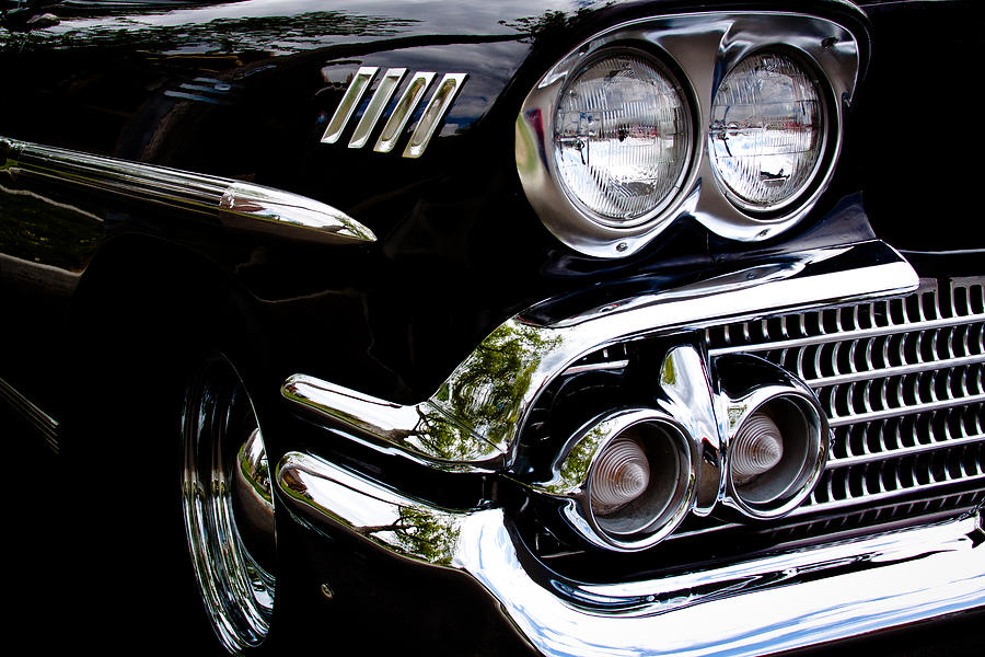 58 Photograph - 1958 Chevy Bel Air by David Patterson