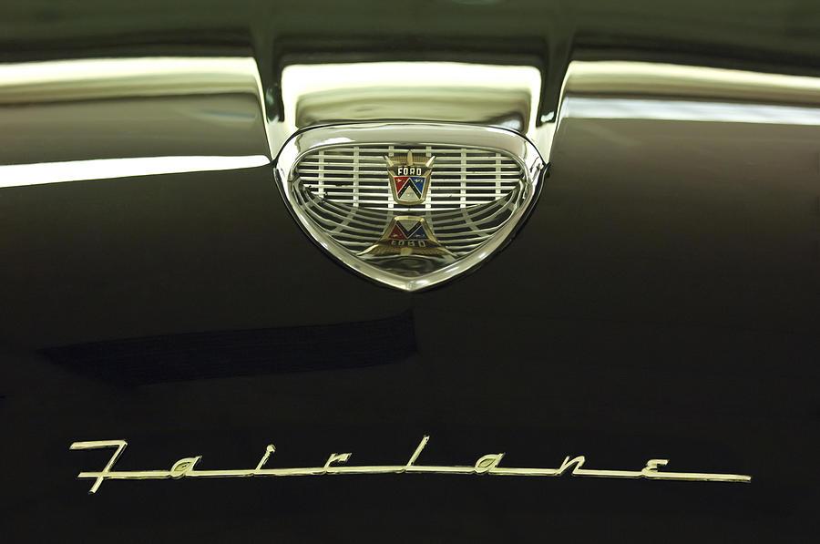1958 Ford Fairlane 500 Victoria Hood Ornament Photograph