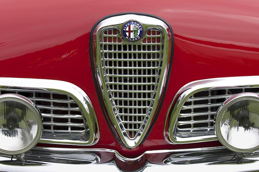 1959 Alfa Romeo Giulietta Sprint Grille Photograph