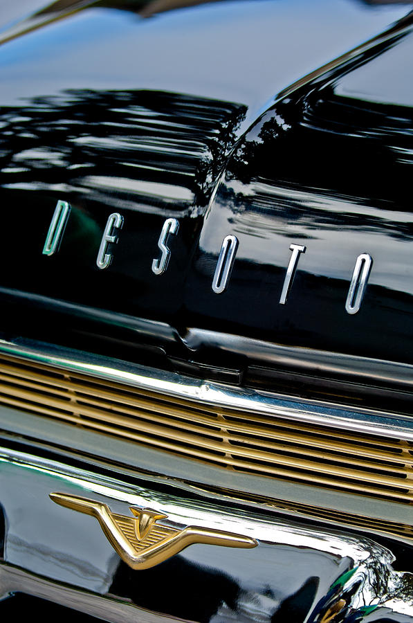 1959 Desoto Adventurer Hood Emblem Photograph