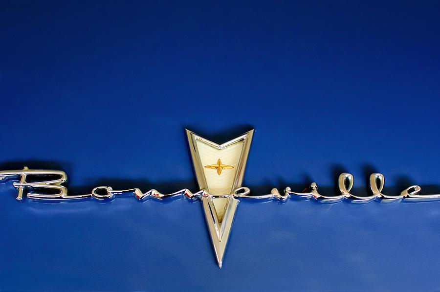 1959 Pontiac Bonneville Emblem Photograph