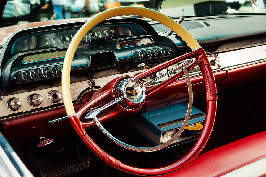 1960 Desoto Fireflite Coupe Steering Wheel And Dash