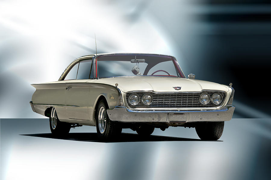 Auto Photograph - 1960 Ford Starliner by Dave Koontz
