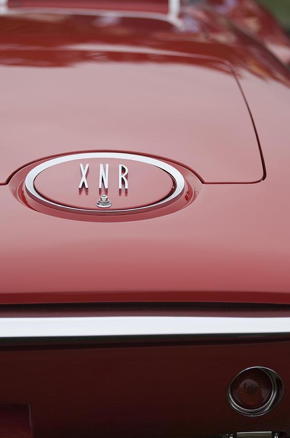 1960 Plymouth Xnr Ghia Roadster  Emblem Photograph