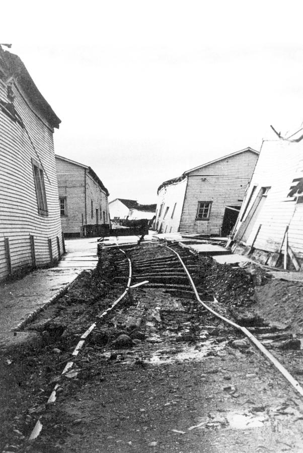 1960 Valdivia Earthquake Chile Photograph By Science