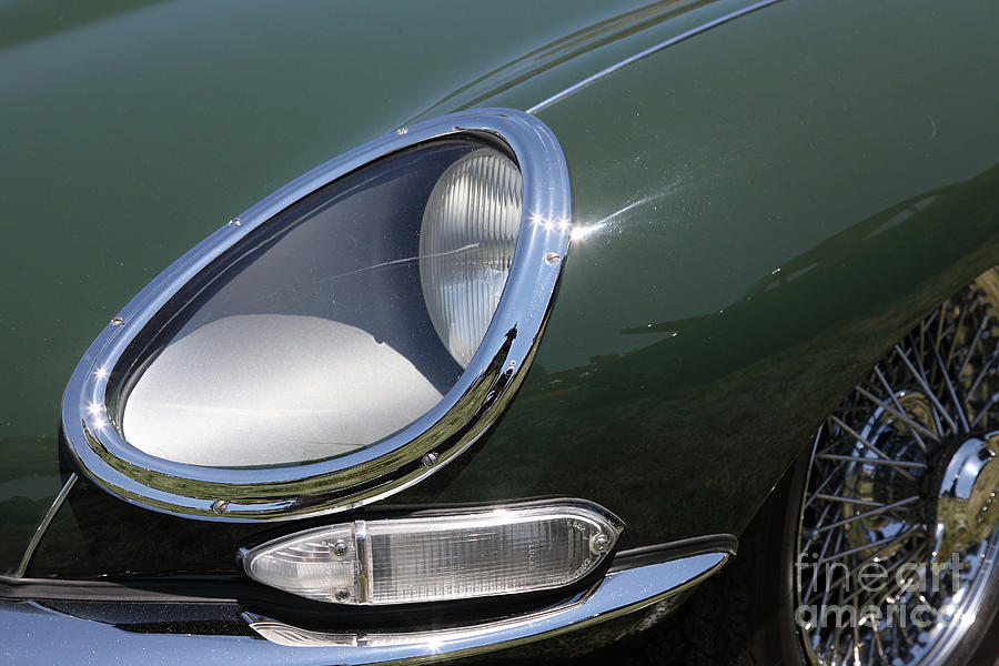 1961 Jaguar Xke Roadster 5d23322 Photograph  - 1961 Jaguar Xke Roadster 5d23322 Fine Art Print