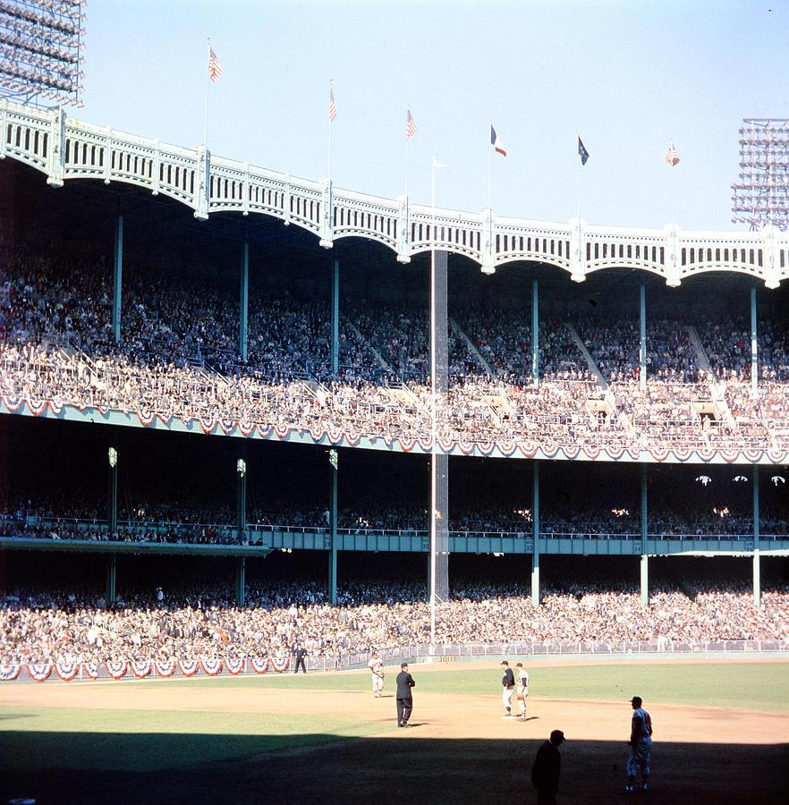 1961 World Series Photograph