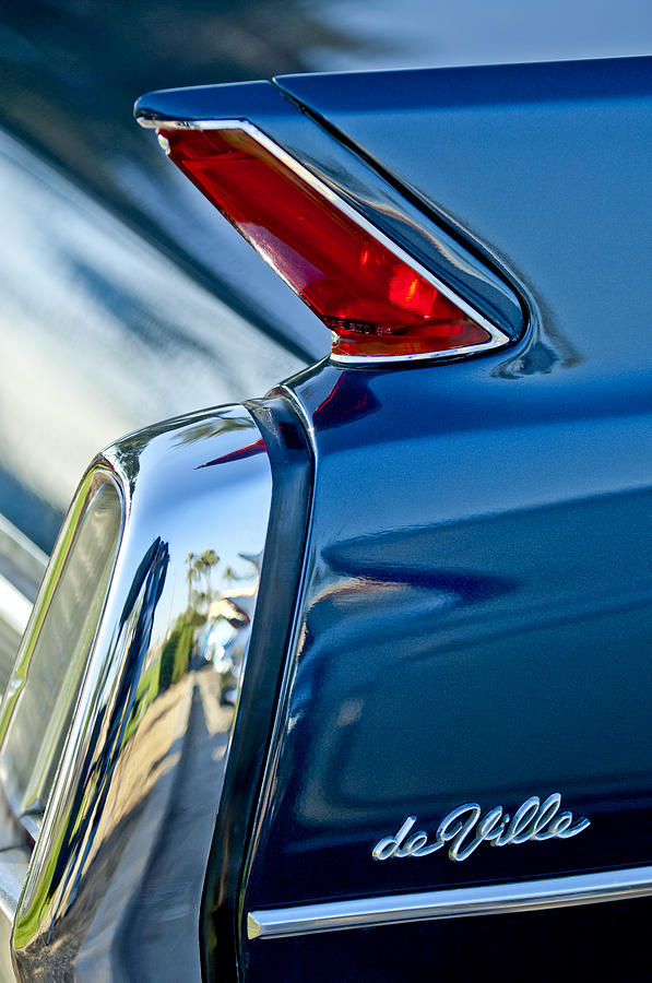 1962 Cadillac Deville Taillight Photograph