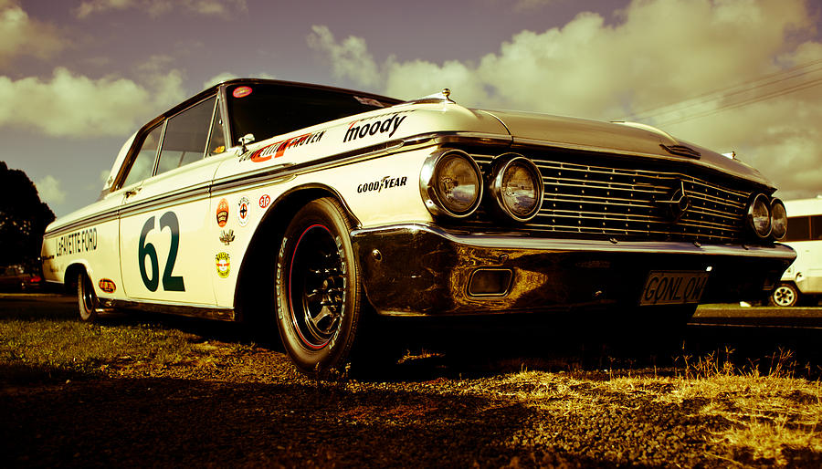 1962 Ford Galaxie 500 Photograph  - 1962 Ford Galaxie 500 Fine Art Print
