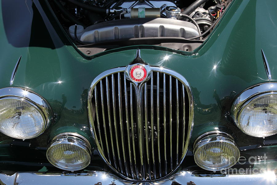 1962 Jaguar Mark II 5d23327 Photograph  - 1962 Jaguar Mark II 5d23327 Fine Art Print