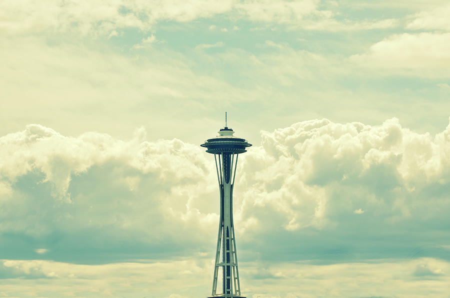 Seattle Photograph - 1962 by Robin Dickinson