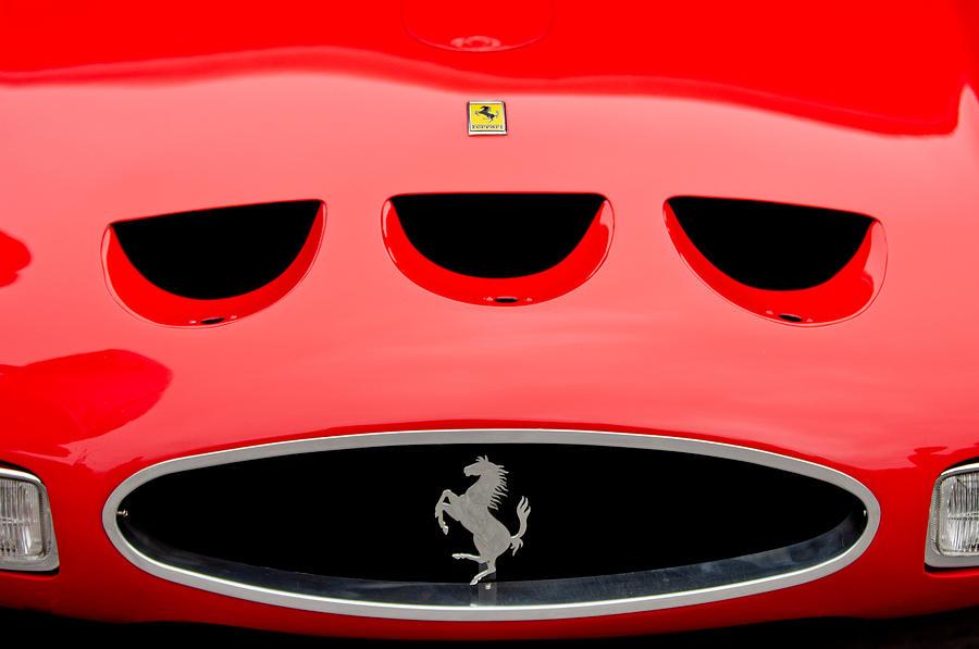 1963 Ferrari 250 Gto Grille Photograph