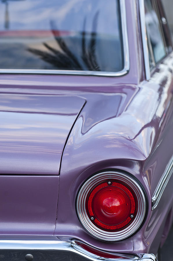 1963 Ford Falcon Tail Light Photograph