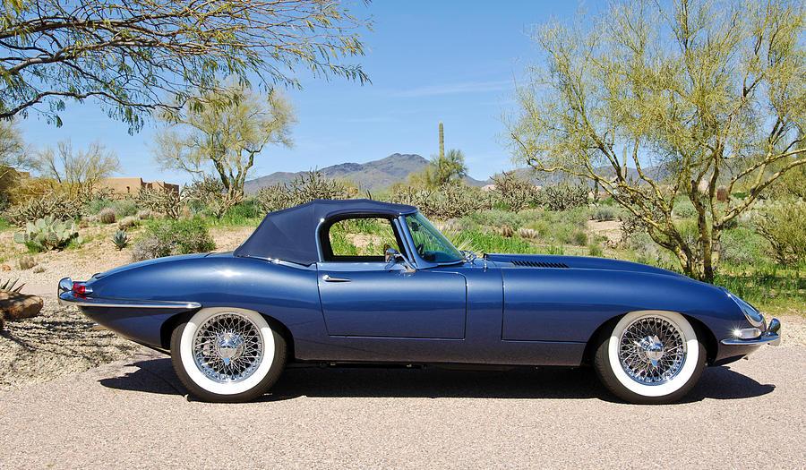 1963 jaguar xke roadster photograph by jill reger. Black Bedroom Furniture Sets. Home Design Ideas