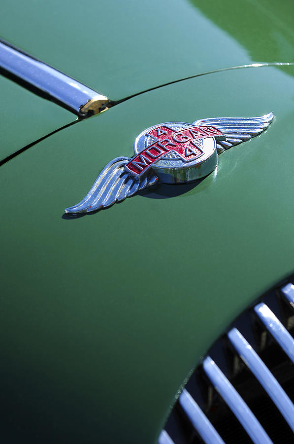 1964 Morgan 44 Hood Ornament Photograph