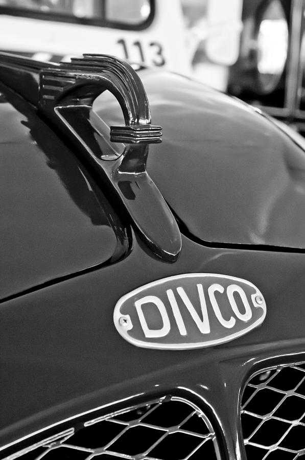 1965 Divco Milk Truck Hood Ornament 3 Photograph  - 1965 Divco Milk Truck Hood Ornament 3 Fine Art Print