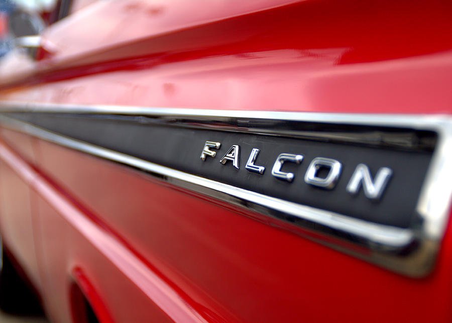 1965 Ford Falcon Name Plate Photograph