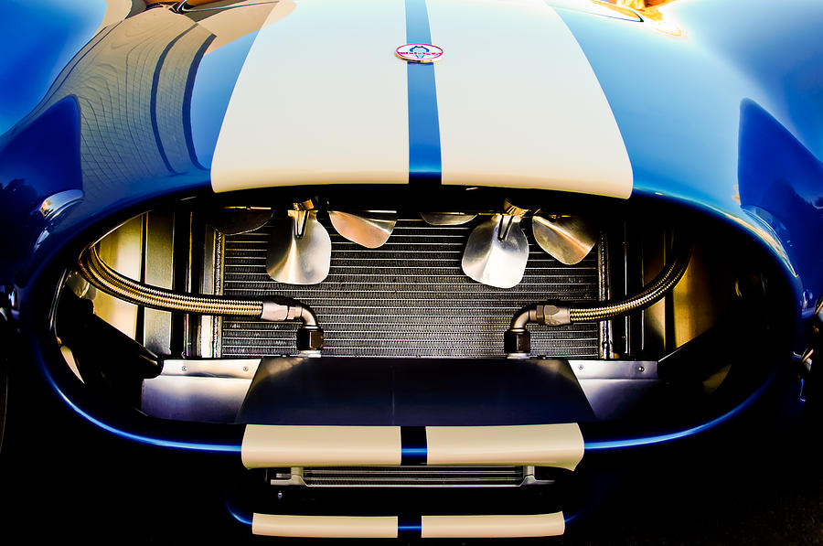 1965 Shelby Cobra Grille Photograph