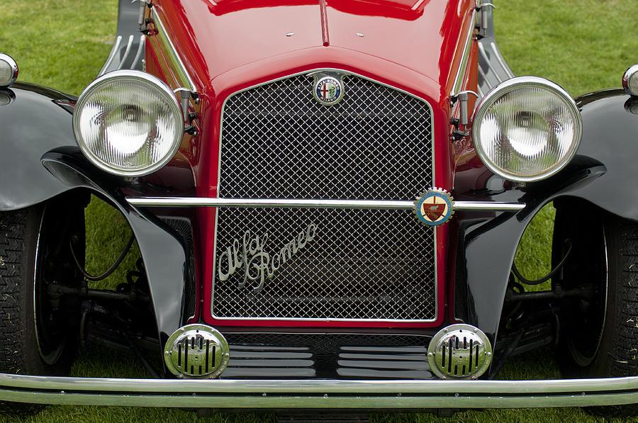 1966 Alfa Romeo Quattro Route 4r Grille Photograph