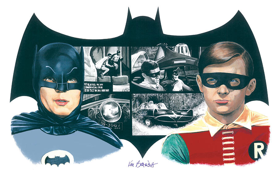 22 Modern Batman Ausmalbilder Zum Drucken Porträt: 1966 Batman And Robin By Ken Branch