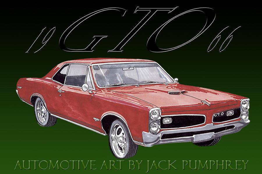 1966 Pontiac Gto Painting