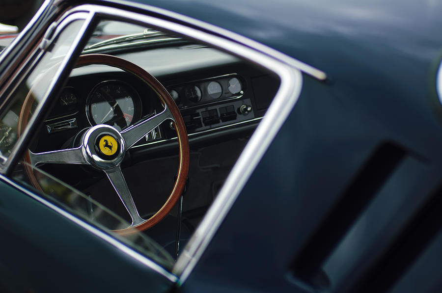 1967 Ferrari 275 Gtb-4 Berlinetta Photograph