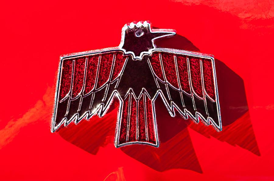 1967 Pontiac Firebird Emblem Photograph by Jill Reger