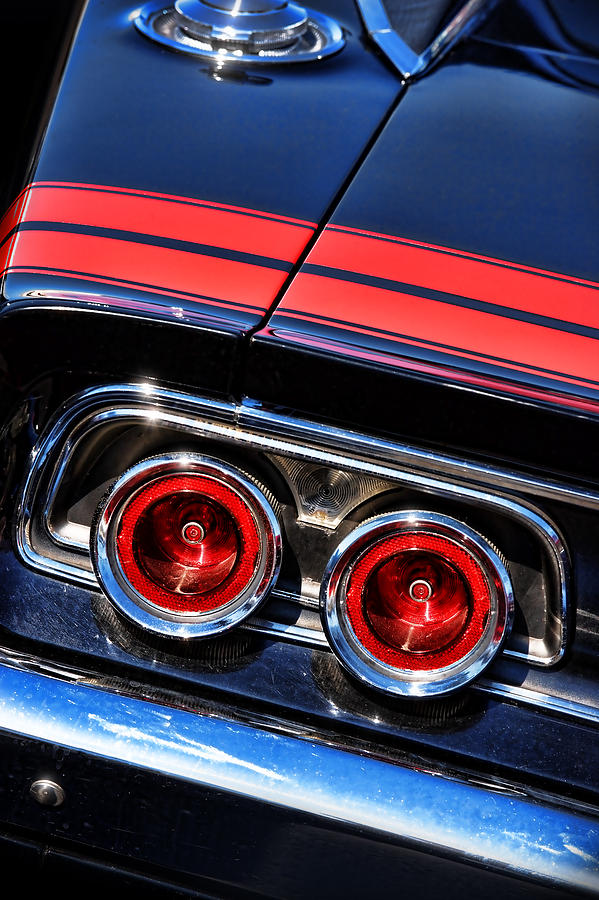 Charger Rt Dodge Charger R T Dodge Black Tires Muscle: 1968 Dodge Charger R/t Tail Lights Photograph By Gordon