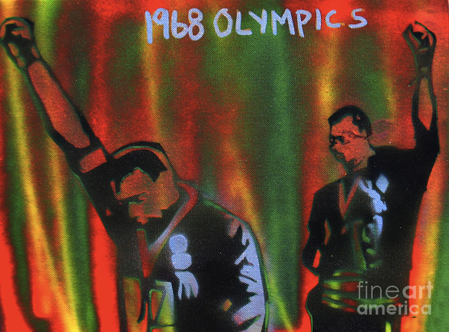 1968 Olympics Painting