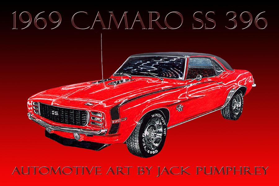 1969 Camaro Ss 396 Painting