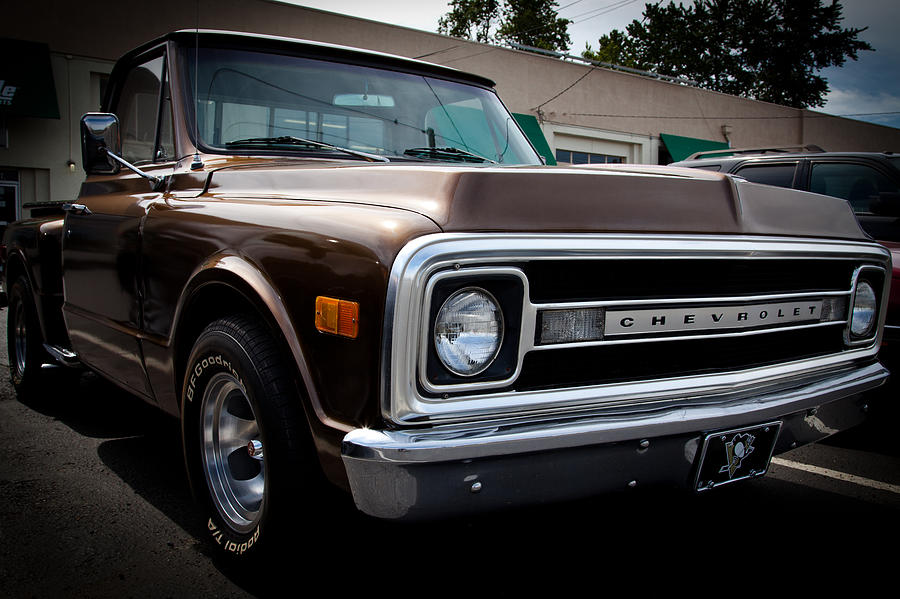 1969 Chevy Pickup Photograph