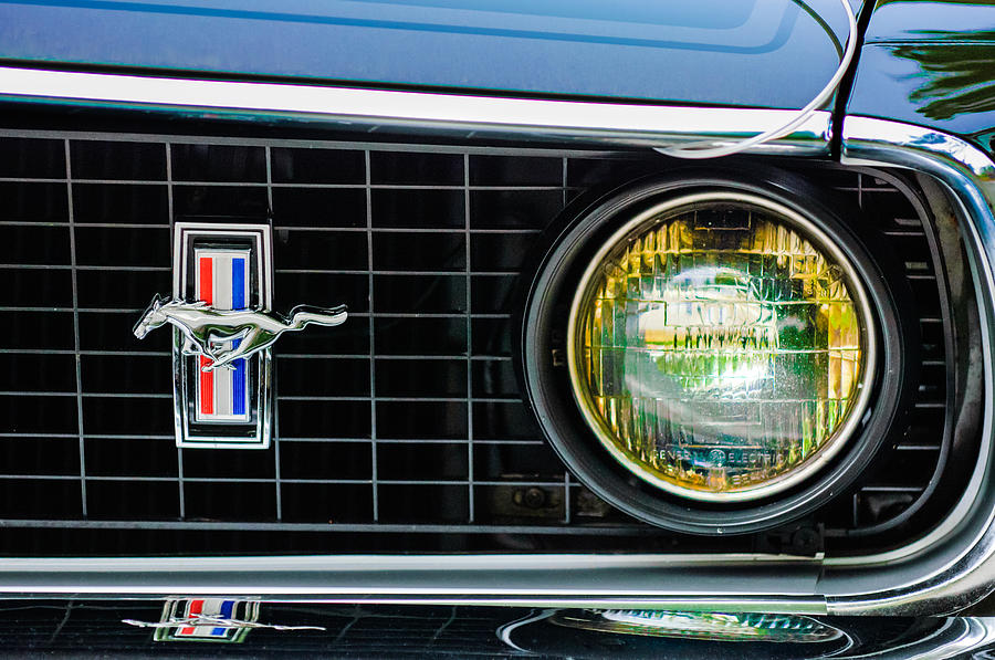 Ford Mustang Emblems Ford Mustang Mach