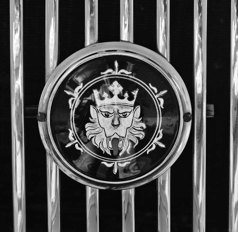 1969 Morgan Roadster Grille Emblem 3 Photograph
