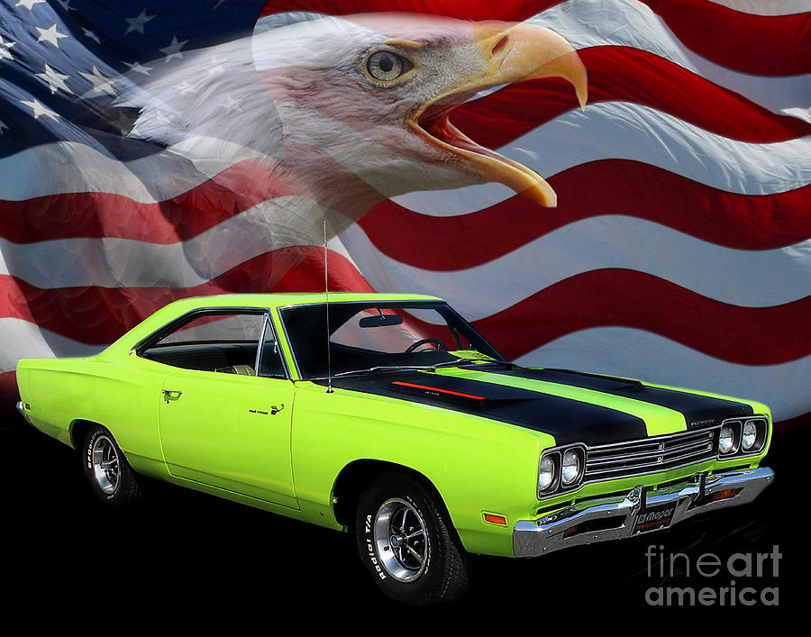 1969 Plymouth Road Runner Tribute Photograph  - 1969 Plymouth Road Runner Tribute Fine Art Print
