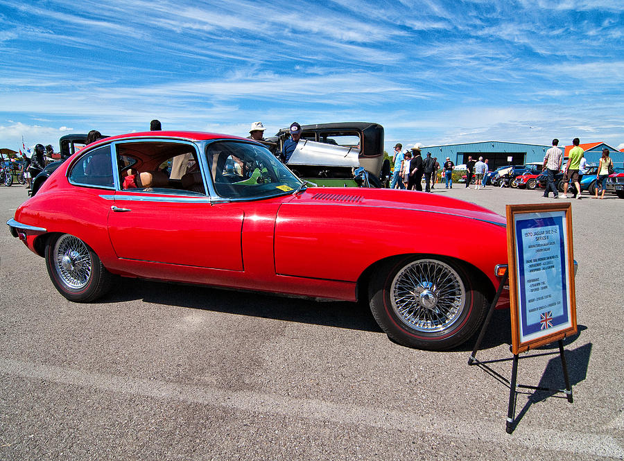 1970 Jaguar Xke 2 Plus 2 Series II Photograph
