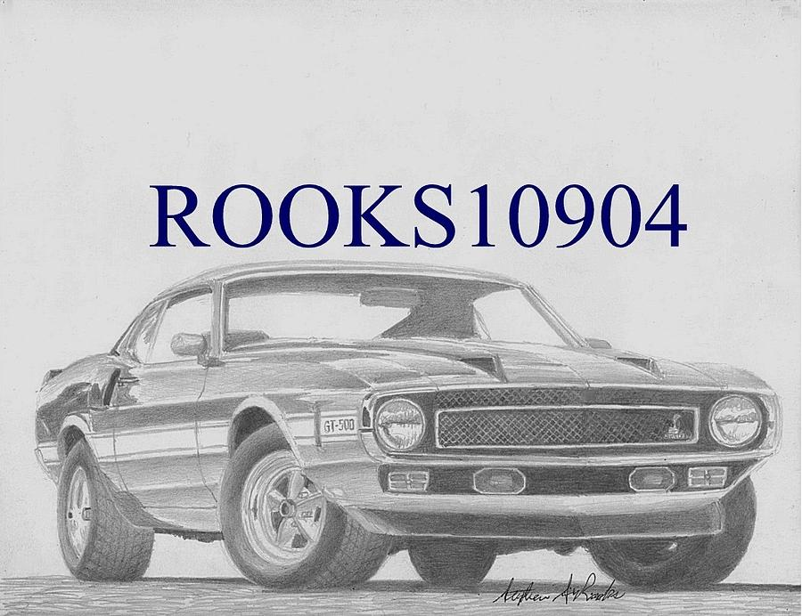 Cars Drawings Mustang Muscle Car Art Drawings