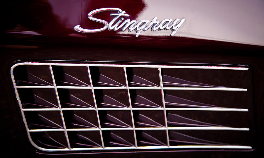 1972 Chevrolet Corvette Stingray Photograph