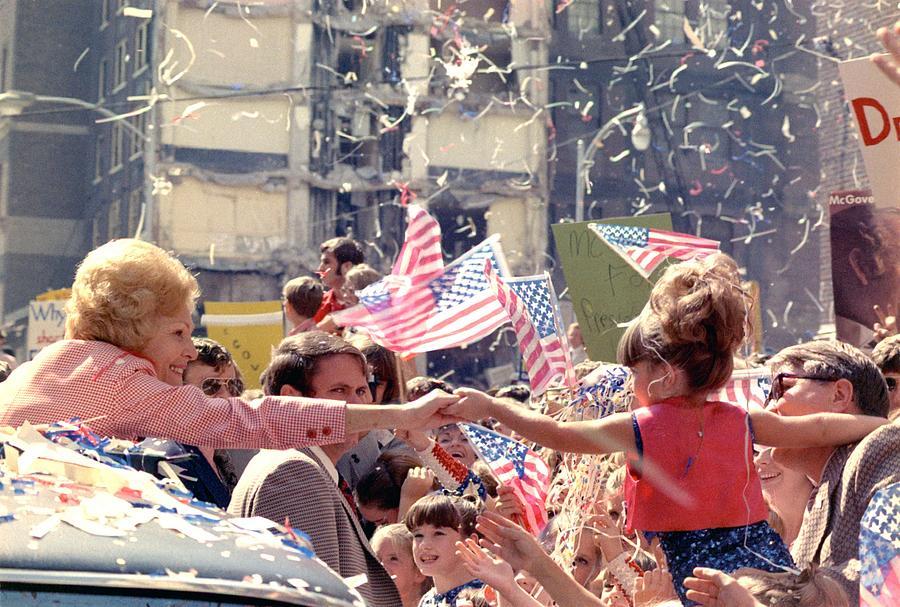 1972 Nixon Presidential Campaign. Pat Photograph
