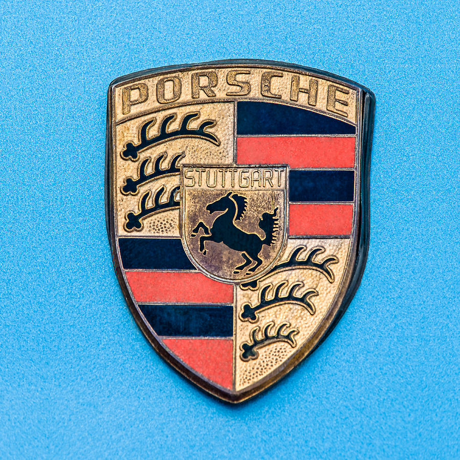 1972 Porsche 911s Emblem - 0584c55 Photograph