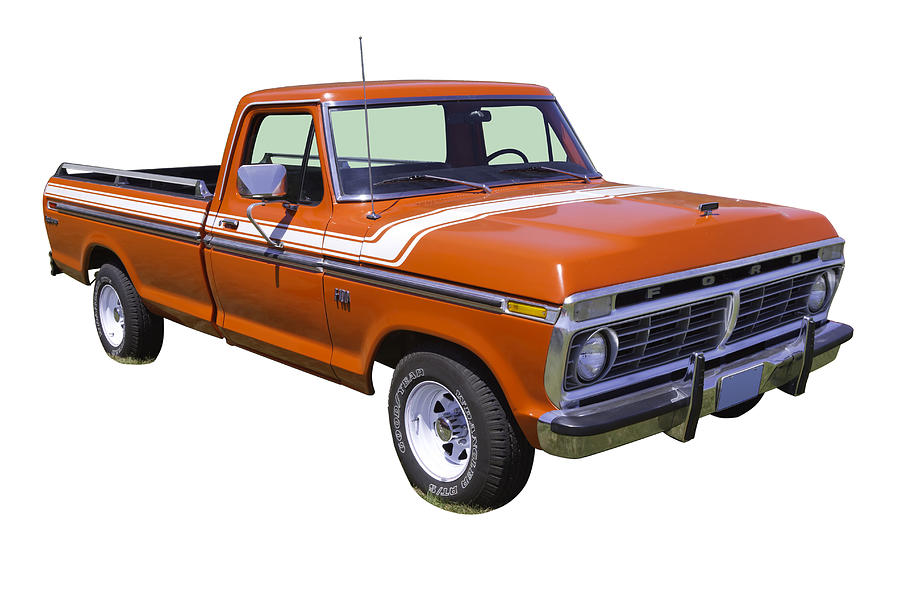 1975 ford f100 explorer pickup truck photograph by keith webber jr. Black Bedroom Furniture Sets. Home Design Ideas
