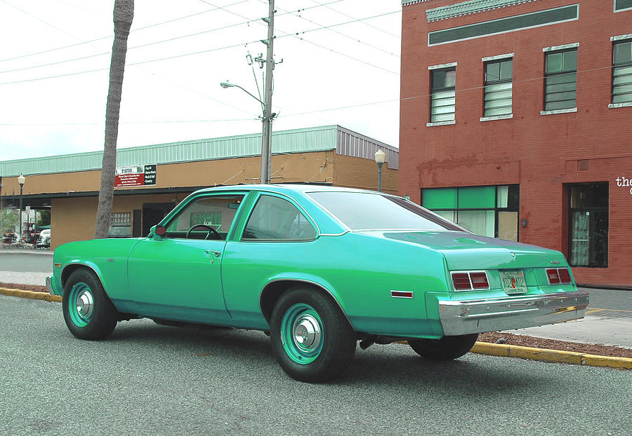 1976 Chevy Nova is a photograph by Kornel J Werner which was uploaded ...