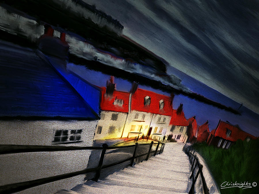 Painting Painting - 199 Steps by Chris Knights